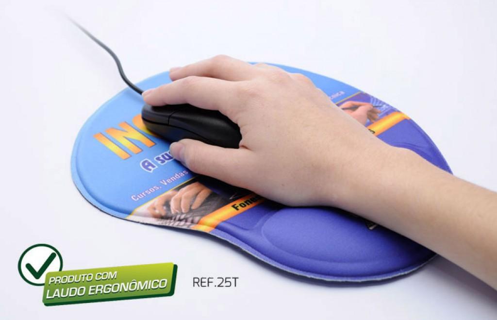 Foto 3 do produto Mouse Pad Ergonômico