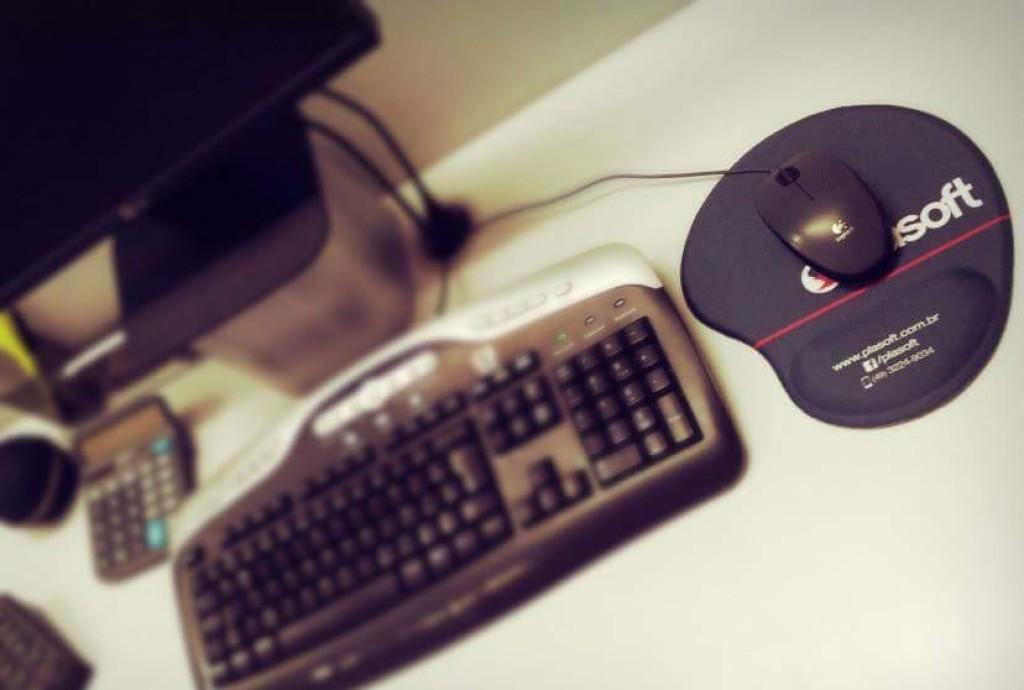 Foto 2 do produto Mouse Pad Ergonômico