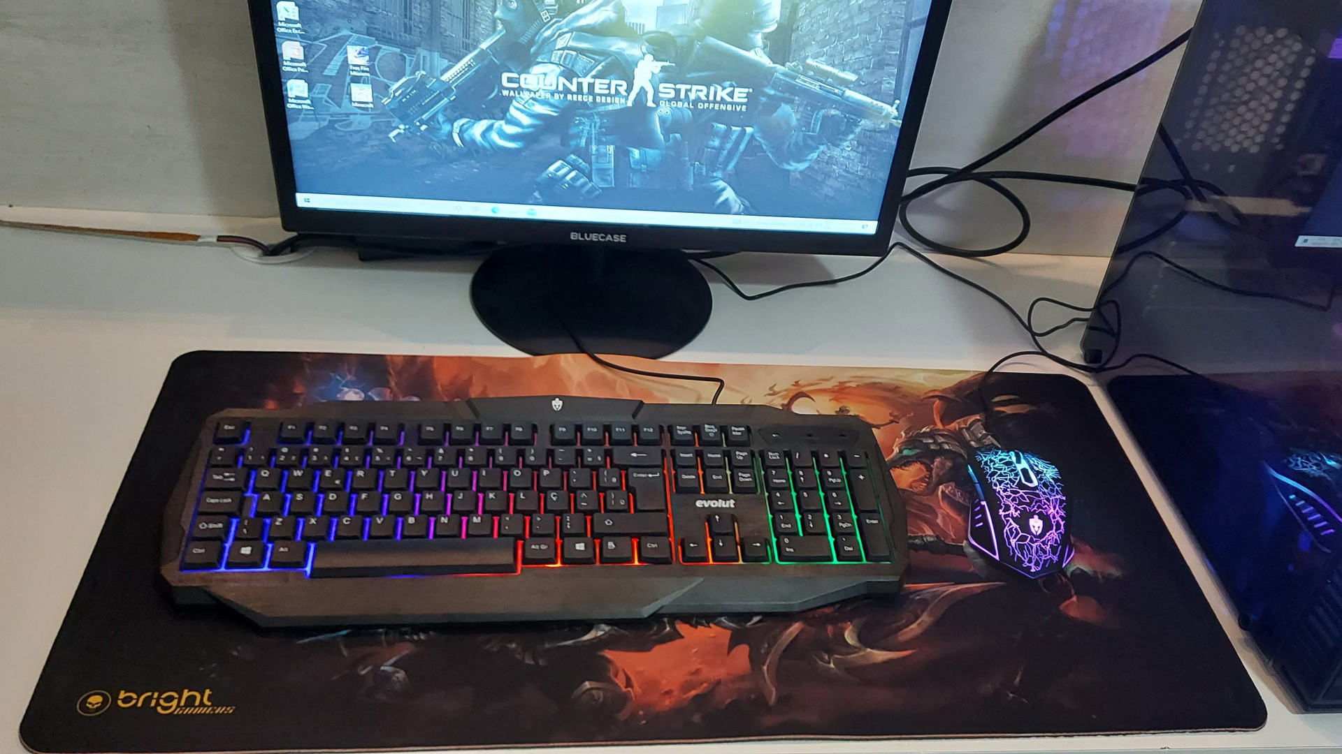Mouse pad game gigante