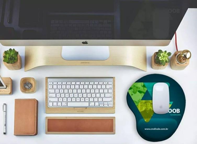 Foto 4 do produto Mouse Pad Ergonômico
