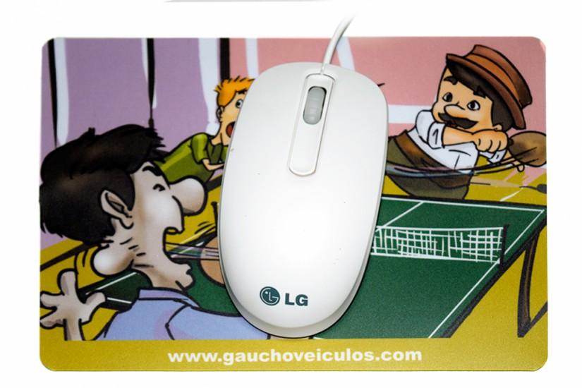 Foto 3 do produto Mouse Pad PVC Menor Custo