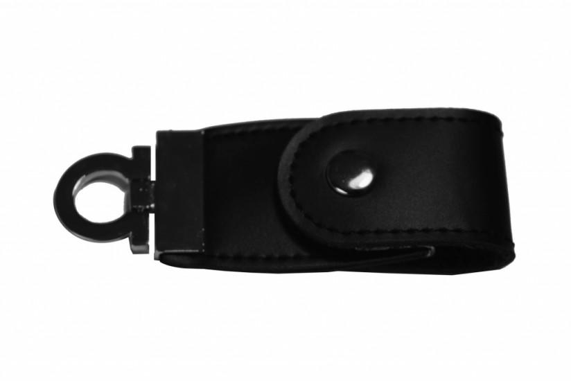 Foto 2 do produto Pen Drive Chaveiro em couro 4Gb