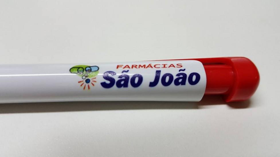 Foto 2 do produto Caneta plástica São João