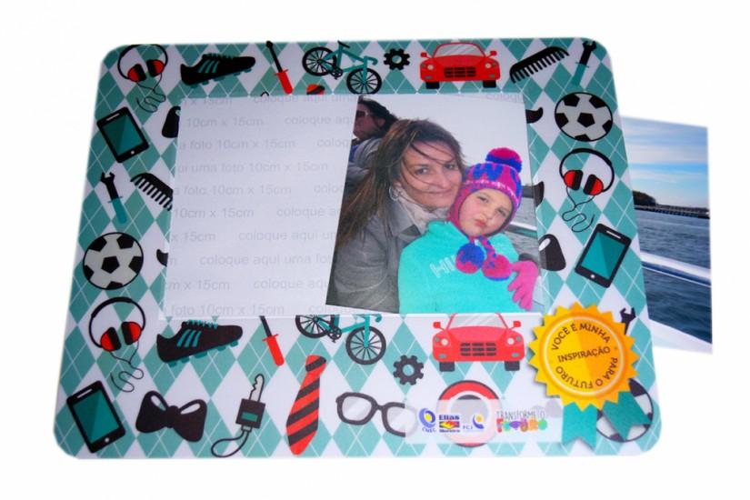 Foto 3 do produto Mouse Pad PVC Porta Fotos