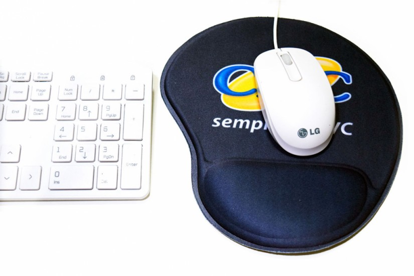 Foto de Mouse Pad Ergonômico