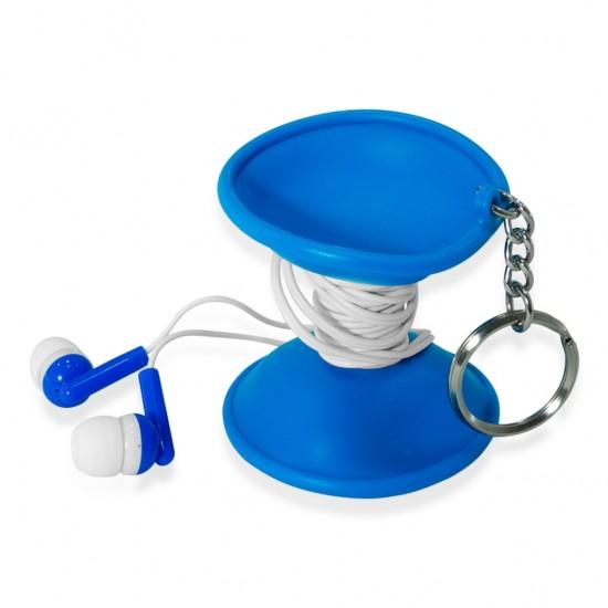 Foto 5 do produto Chaveiro Emborrachado com fone de ouvido
